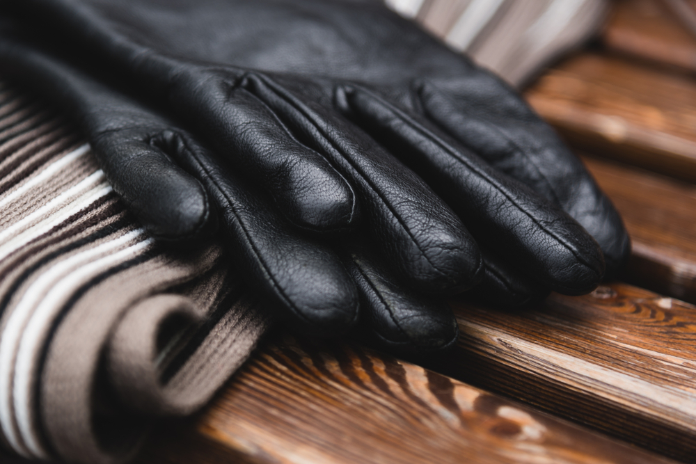 leren handschoenen heren